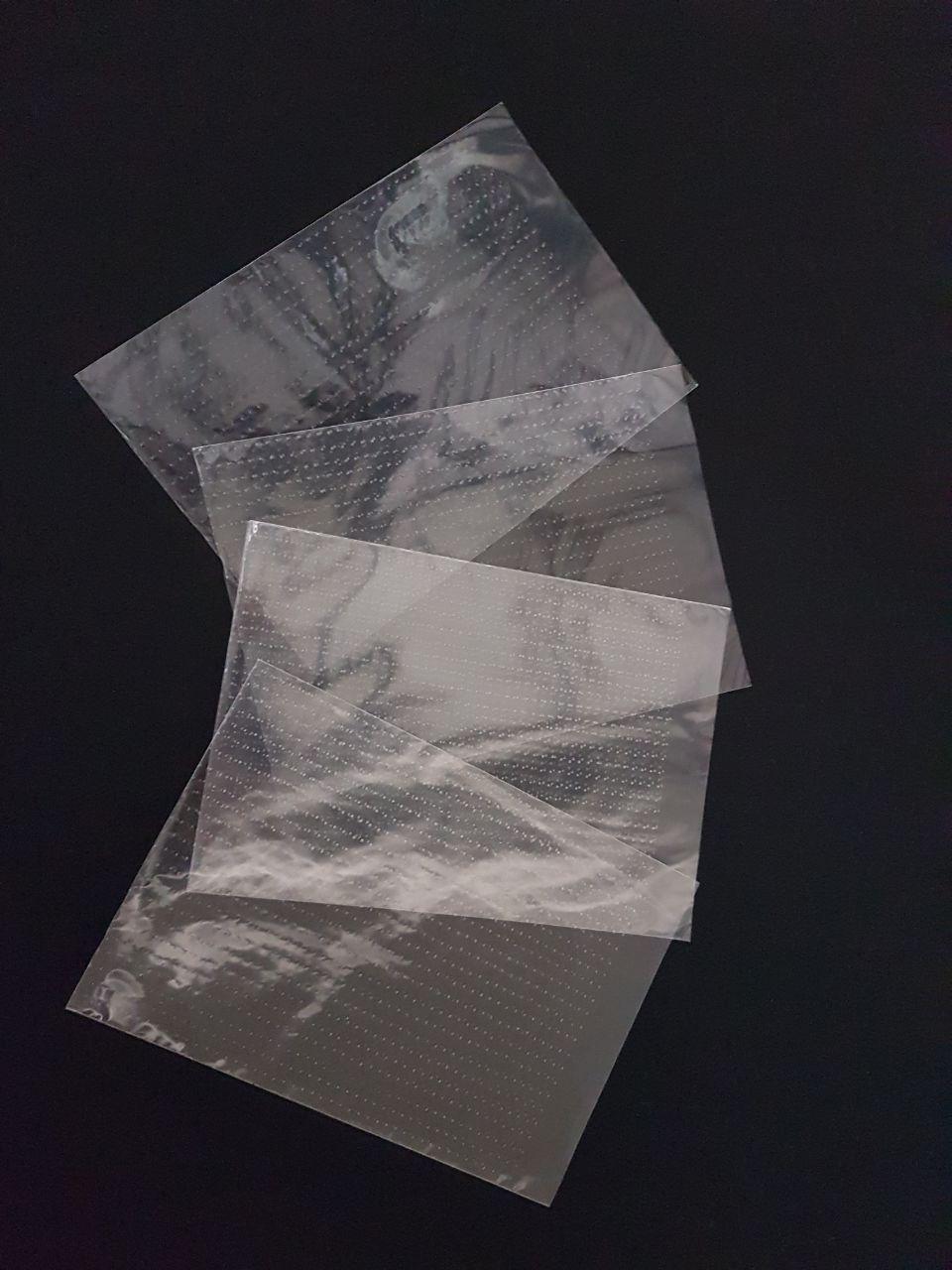 801ab3217 Bolsa Microperforada Transp. con tape6 - Concisa Guatemala